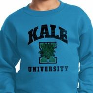 Yoga Kale University Lights Kids Sweatshirt