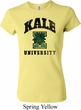 Yoga Kale University Lights Ladies Crewneck Shirt