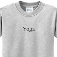 Yoga Logo Kids Yoga T-shirts