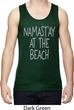 Yoga Namastay at the Beach Mens Moisture Wicking Tanktop