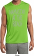 Yoga Namastay at the Beach Mens Sleeveless Moisture Wicking Shirt