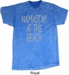 Yoga Namastay at the Beach Mineral Tie Dye Shirt