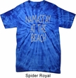 Yoga Namastay at the Beach Spider Tie Dye Shirt