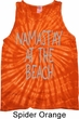 Yoga Namastay at the Beach Tie Dye Tank Top