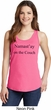Yoga Namastay Home on the Couch Ladies Tank Top