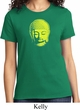 Yoga Neon Yellow Buddha Ladies Shirt