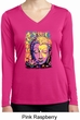 Yoga Psychedelic Buddha Ladies Moisture Wicking Long Sleeve Shirt