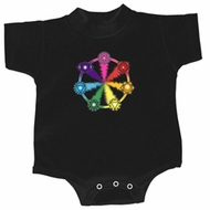 Yoga Romper 7 Chakra Circle Infant Baby Creeper