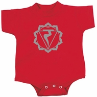 Yoga Romper Manipura Chakra Meditation Infant Baby Creeper