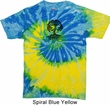 Yoga Shirt Black Celtic Tree Tie Dye Shirt