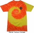 Yoga Shirt Gold AUM Patch Pocket Print Tie Dye Tee T-shirt