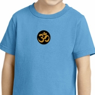 Yoga Shirt Gold AUM Patch Toddler Tee T-Shirt