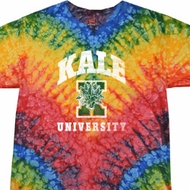 Yoga Shirt Kale University Darks Tie Dye Tee T-shirt