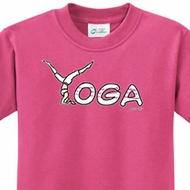 Yoga Spelling Kids Yoga Shirts