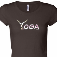 Yoga Spelling Ladies Yoga Shirts