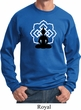Yoga Sweatshirt Buddha Lotus Pose Sweat Shirt