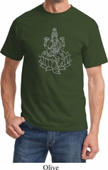 Yoga Tara Sketch Adult Shirt