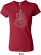 Yoga Tara Sketch Ladies Crewneck Shirt