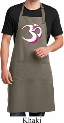 Yoga Urban AUM Mens Full Length Apron with Pockets