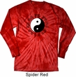 Yoga Yin Yang Trigrams Long Sleeve Tie Dye Shirt