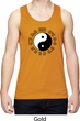 Yoga Ying Yang Trigrams Mens Moisture Wicking Tanktop
