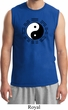Yoga Ying Yang Trigrams Mens Muscle Shirt
