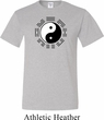Yoga Ying Yang Trigrams Mens Tall Shirt