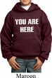 You Are Here Kids Hoodie