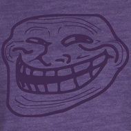 You Mad Juniors T-Shirt You Mad Face Purple Tee Shirt