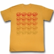 You Mad Shirt Pattern Adult Heather Orange Tee T-Shirt