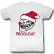 You Mad Shirt Problem Adult White Tee T-Shirt
