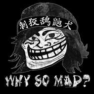 You Mad Shirt Why So Mad? Adult Black Tee T-Shirt