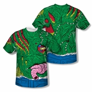 Zombie Gross Zombie Sublimation Shirt Front/Back Print