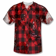 Zombie Hipster Zombie Sublimation Shirt