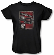 Zombie Ladies T-Shirt Mort Postem And Sons Black Tee Shirt