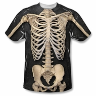 Zombie Skeleton Costume Sublimation Shirt
