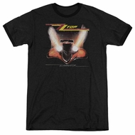 ZZ Top Eliminator Cover Black Ringer Shirt