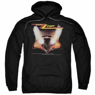 ZZ Top Hoodie Eliminator Cover Black Sweatshirt Hoody
