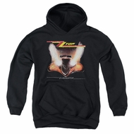ZZ Top Kids Hoodie Eliminator Cover Black Youth Hoody