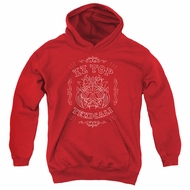 ZZ Top Kids Hoodie Texicali Demon Red Youth Hoody