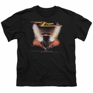 ZZ Top Kids Shirt Eliminator Cover Black T-Shirt