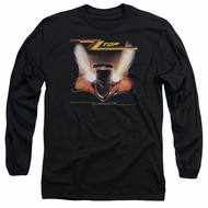 ZZ Top Long Sleeve Shirt Eliminator Cover Black Tee T-Shirt