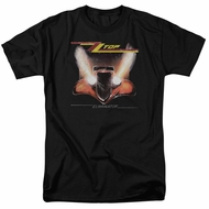 ZZ Top Shirt Eliminator Cover Black T-Shirt
