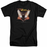 ZZ Top Shirt Eliminator Cover Black Tall T-Shirt