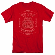 ZZ Top Shirt Texicali Demon Red T-Shirt