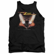 ZZ Top Tank Top Eliminator Cover Black Tanktop