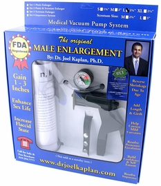 The Only FDA Registered Penis Enlargement Pump - Size Large