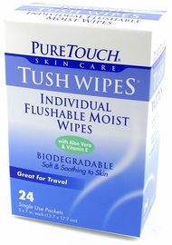 Tush Wipes -The Cure for Swamp Ass