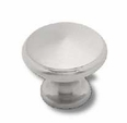 "Center Peak Large Satin Nickel Knob 1-3/16"" L-PN0397-SN-C"