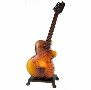 Amber Guitar Accent lamp